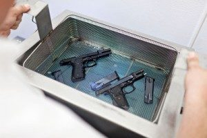 nettoyage ultrason armes